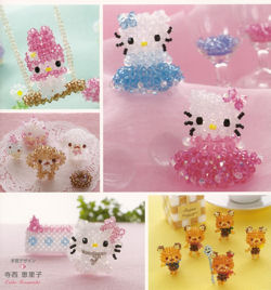 Hello Kitty et ses amis en perles