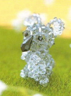 Le petit koala tout seul... (en perles)